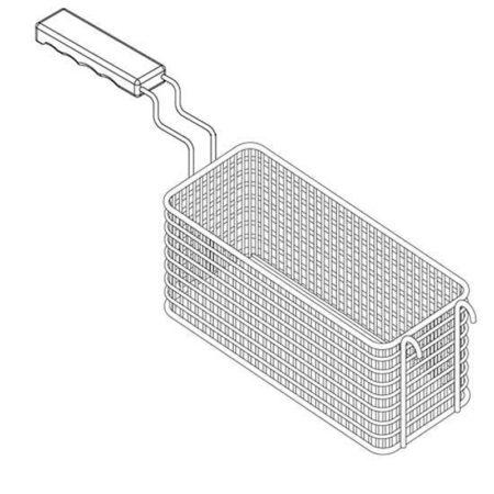 1/2 Korb für 13 Liter Becken-Kapazität, Gas-Fritteusen Extreme-Version - Produkt - Gastrowold-24 - Ihr Onlineshop für Gastronomiebedarf