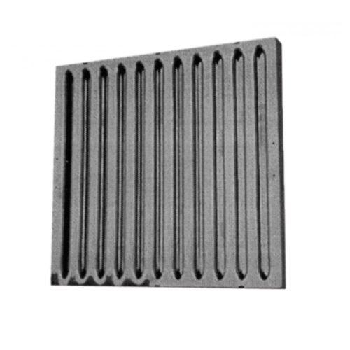 Flammschutzfilter Edelstahl, 400x400x20 mm - GGG