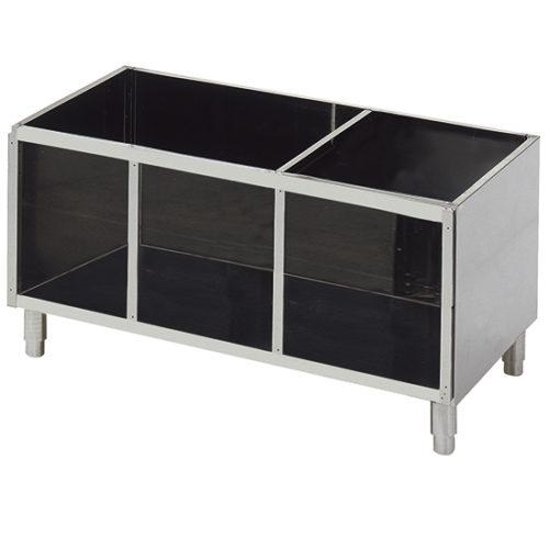 offener Unterbau für Tischgeräte B=1400 mm