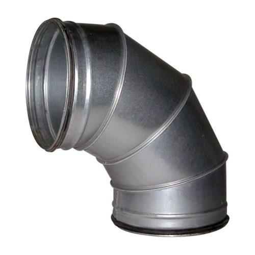90° Bogen, 260x400x400mm, für 250er Rohre - GGG - Gastroworld-24