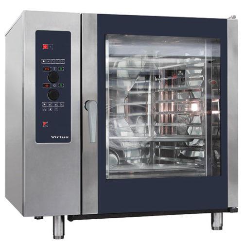 Gas-Konvektionsofen mit Direkteinspritzung und automatischem Reinigungssystem