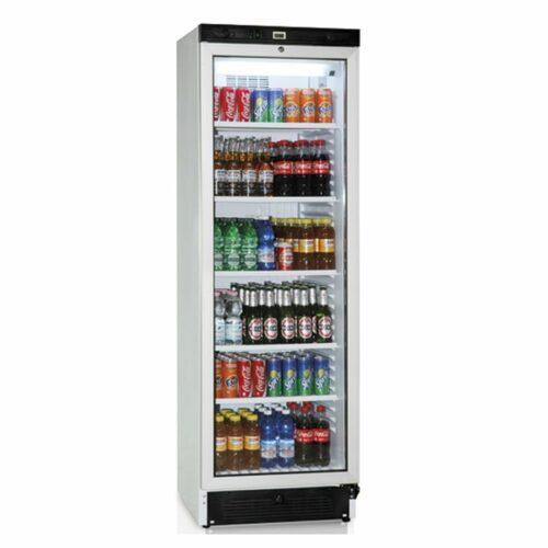 Getränkekühlvitrine 379 Liter mit Glastür und 5 Roste