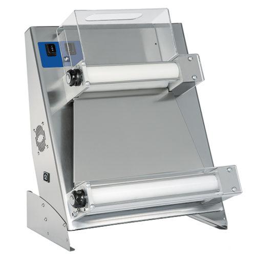 Teigausrollmaschine mit 2 Parallelrollen für Pizzen ø 260-400 mm