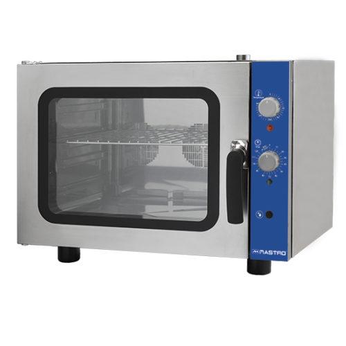 Elektro-Kovenktionsofen 4x GN 2/3 mit Befeuchter und 2 Auto-reverse Ventilatoren