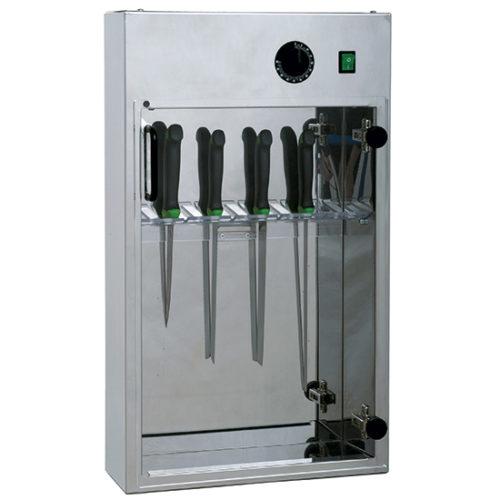 Messersterilisierer mit Timer für 14 Messer L=350 mm