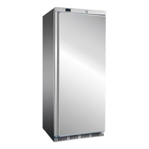 Edelstahl Kühlschrank, 777x695x1895 mm, 620 L / 476 L, - GGG