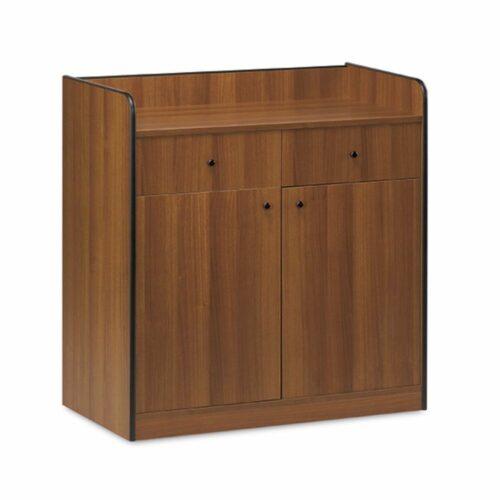 Ausgabemöbelstück mit 2 Schubladen und 2 Türen