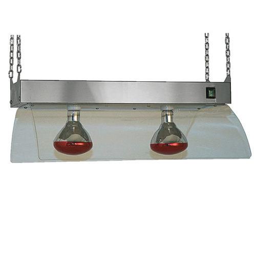 Infrarotlampen mit Edelstahlrahmenkonstrukt für Deckenmontage