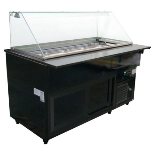 Gastrolinetheke, 2500x800x1250mm - GGG