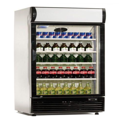 Flaschenkühlschrank 350 Liter, 620x635x1890 mm, 230 V, 225 W - GGG