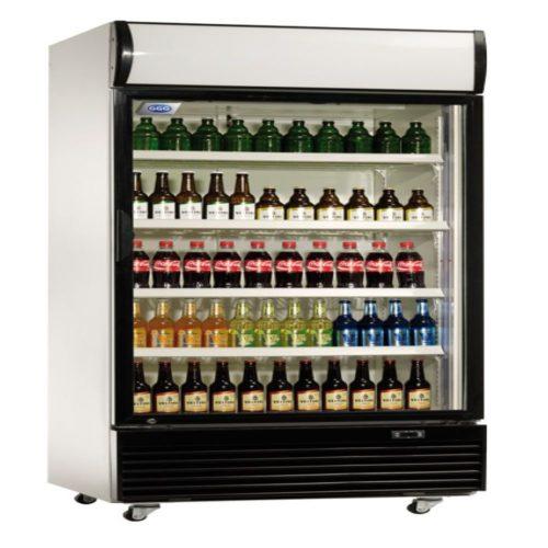 Flaschenkühlschrank, 660 Liter,  840x730x2036 mm, 400 W, - GGG