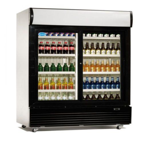 Flaschenkühlschrank, 1000x730x2036 mm, 800 Liter, - GGG