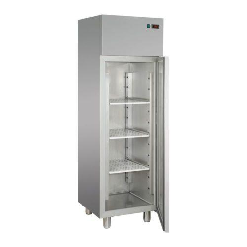 Edelstahl-Tiefkühlschrank, 600 x 620 x 1900/2080 mm, - GGG