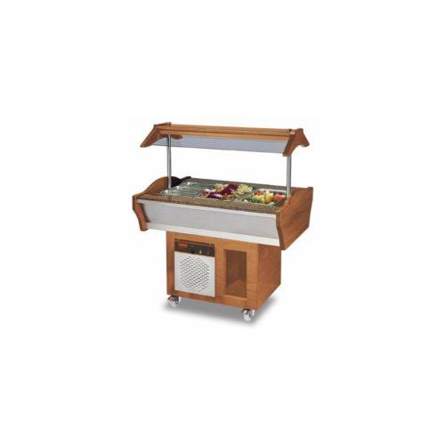 Gastro Buffet Salatbar, 1200x900x850/1350 mm, 389 W, 220 V, - GGG