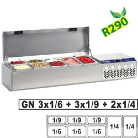 KÜHLAUFSATZ GN 2x1/4,3x1/6,3x1/9+DECKEL