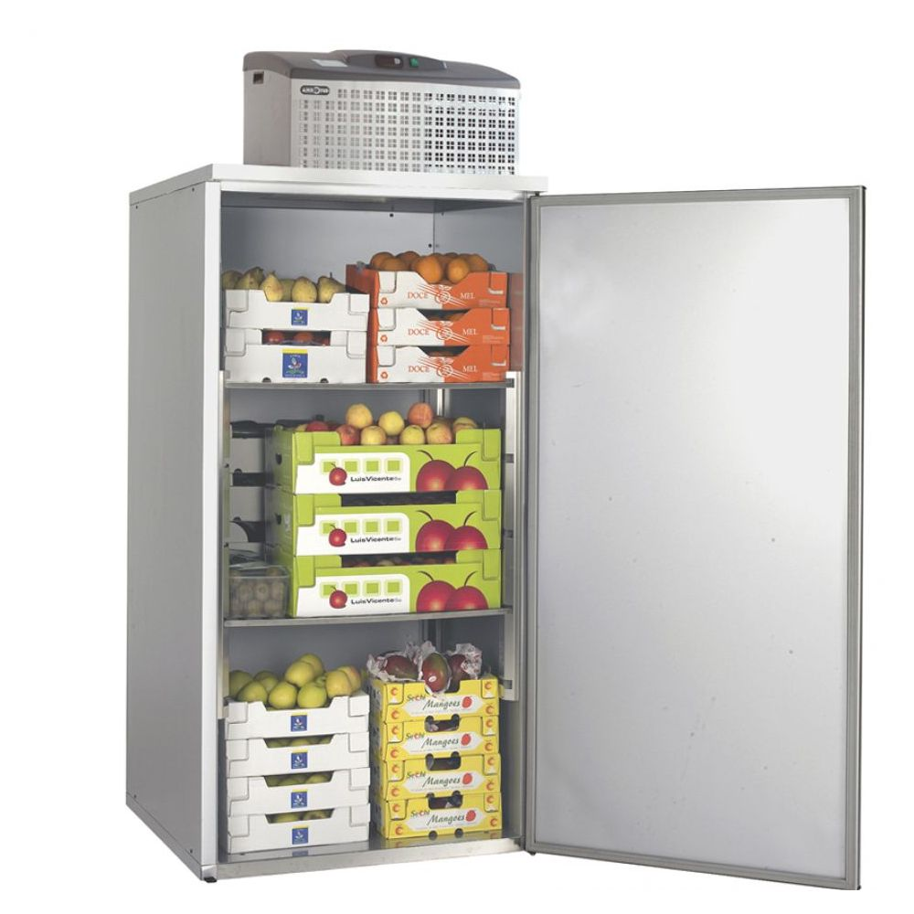 Lager-Kühlzelle 935x995x1992mm, 3 Einlegeböden, - GGG