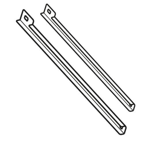 Führungssschienen-Set für Kühltische T=600 mm