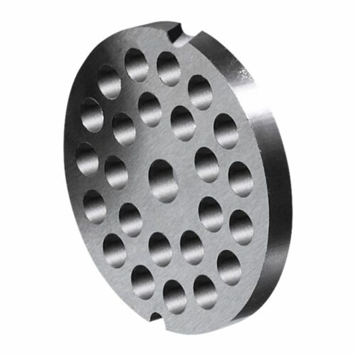 Lochscheibe für Fleischwölfe Typ 8 ø 60 mm mit 2 Kerben