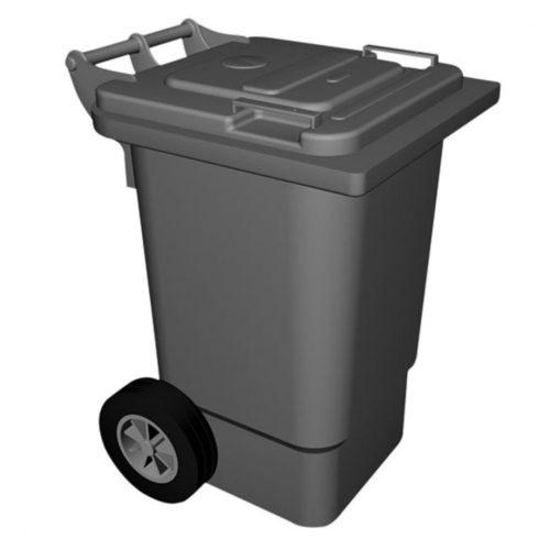 Abfalleimer auf Rädern, 120 Liter - Virtus - Gastroworld-24