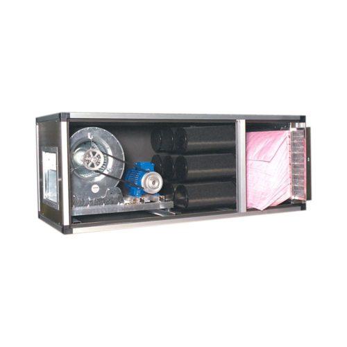 Abluftreinigungsanlage, 1280x1750x800 mm, mit Motor-Ven- - GGG - Gastroworld-24