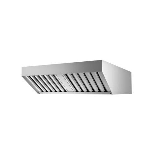 Abzugshaube, 776x951x250 mm, mit luftgekühlem - GGG - Gastroworld-24