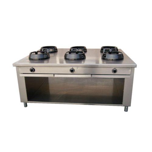 Allgas-Chinaherd, 1850x1400x850 mm, - GGG - Gastroworld-24