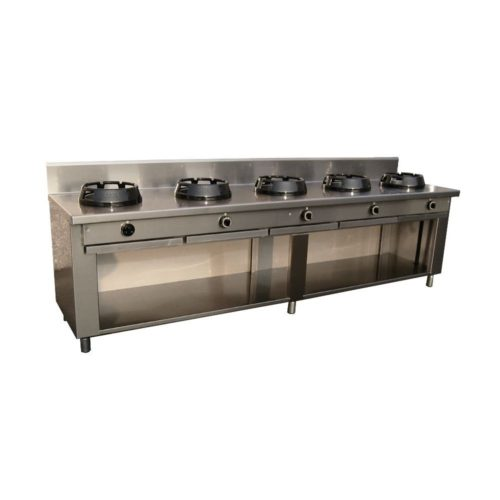 Allgas-Chinaherd, 3000x700x850mm, - GGG - Gastroworld-24