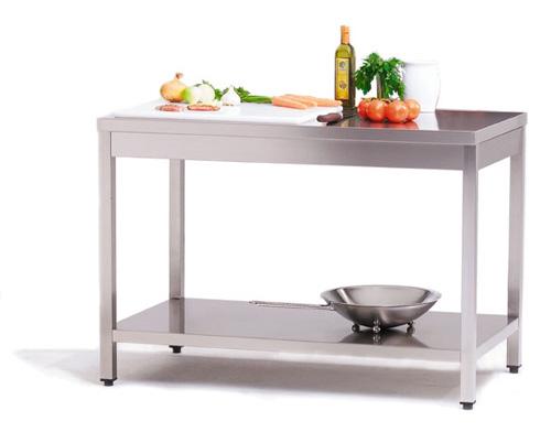 AT 100/7 Arbeitstisch - Produkt - Gastrowold-24 - Ihr Onlineshop für Gastronomiebedarf