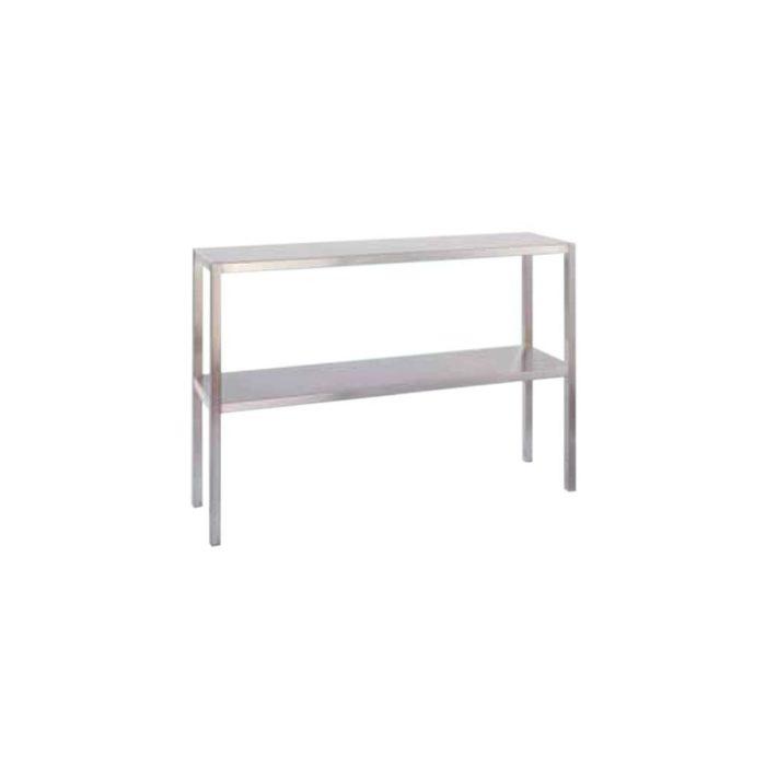 Aufsatzbord 2 Etagen 2200x300x600 mm, - GGG - Gastroworld-24
