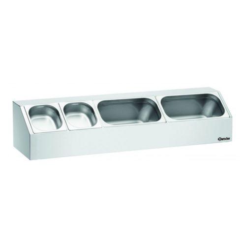 Aufsatzbord, 3x1/3GN, T150 - Bartscher - Gastroworld-24
