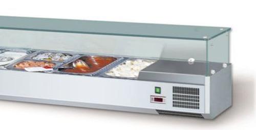 Aufsatzkühlvitrinen AKV 120 VISION TOP GN 1/4 - Produkt - Gastrowold-24 - Ihr Onlineshop für Gastronomiebedarf