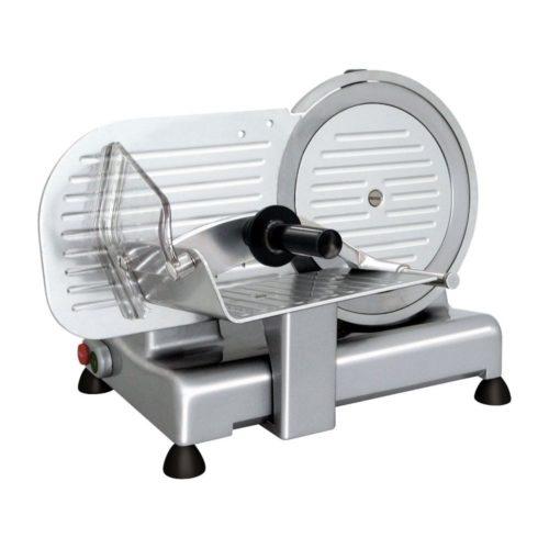 Aufschnittmaschine Ø 220 mm, 410 x 320 x 315 mm, - GGG - Gastroworld-24