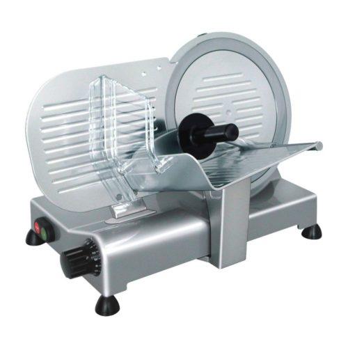 Aufschnittmaschine Ø 250 mm, 480 x 363 x 365 mm, - GGG - Gastroworld-24