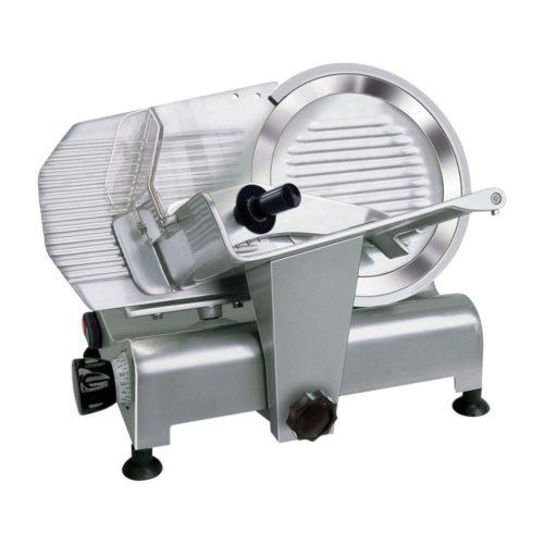 Aufschnittmaschine Ø 300 mm schräg, 570 x 480 x 420 mm, - GGG - Gastroworld-24