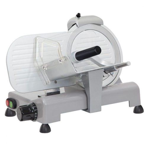 Aufschnittmaschine, Schrägschneidermodell, Messer ø 220 mm - Virtus - Gastroworld-24