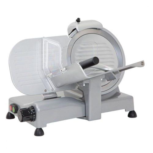 Aufschnittmaschine, Schrägschneidermodell, Messer ø 250 mm - Virtus - Gastroworld-24