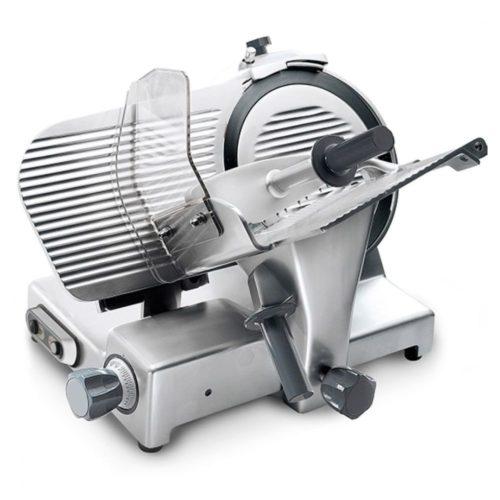 Aufschnittmaschine, Schrägschneidermodell, Messer ø 300 mm - Virtus - Gastroworld-24