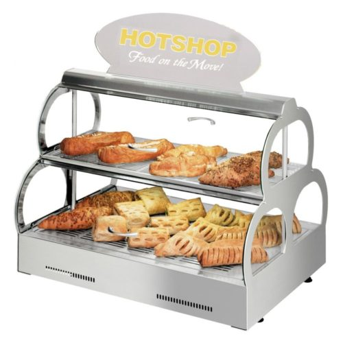 Backwaren-Warmhaltevitrine HotShop - Neumärker - Gastroworld-24