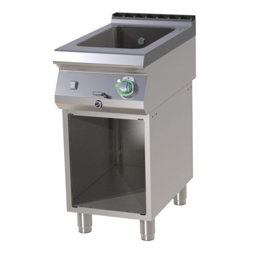 Bain-Marie Elektro mit Unterbau, 400x730x900 mm, - GGG - Gastroworld-24