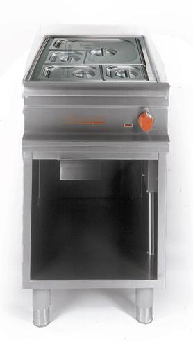 Bain-Marie GN 1/1 offener Unterbau Anschlusswert:1 5kW 220-240V - Produkt - Gastrowold-24 - Ihr Onlineshop für Gastronomiebedarf