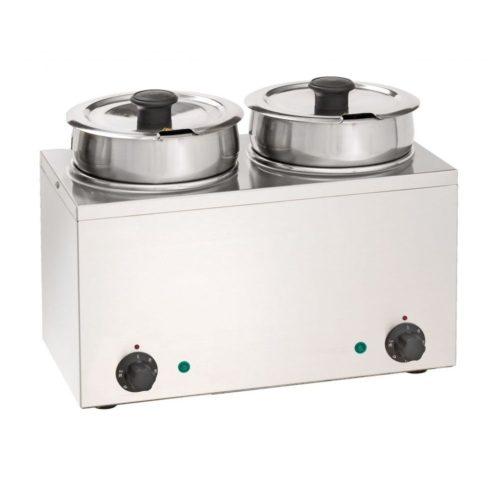 Bain-Marie Hot Pot 2x 3,5 Liter - Neumärker - Gastroworld-24