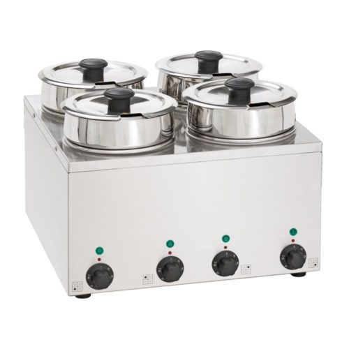 Bain-Marie Hot Pot 4x 3,5 Liter - Neumärker - Gastroworld-24