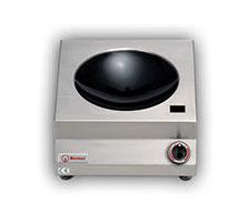 Berner Gastro Induktionswok mit Ceranglasschale 5,0 kW - Produkt - Gastrowold-24 - Ihr Onlineshop für Gastronomiebedarf