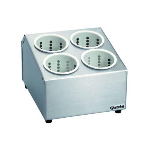 Besteckbehälter mit 4 Köchern - Bartscher - Gastroworld-24