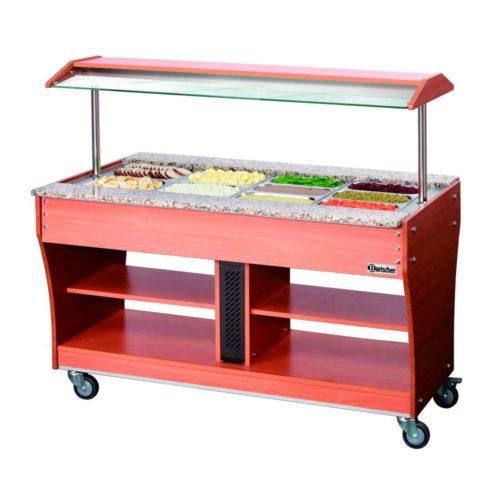 Buffetwagen, warm, 4x 1/1GN - Bartscher - Gastroworld-24