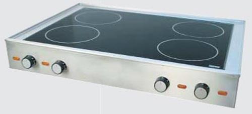Cerankochfeld KF 804 C compact 4 Heizzonen - Produkt - Gastrowold-24 - Ihr Onlineshop für Gastronomiebedarf