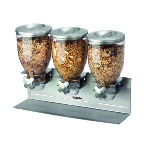 Cerealienspender, 3-fach - Bartscher - Gastroworld-24