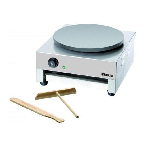 Crépe Backgerät, 1 Platte, 400mm - Bartscher - Gastroworld-24