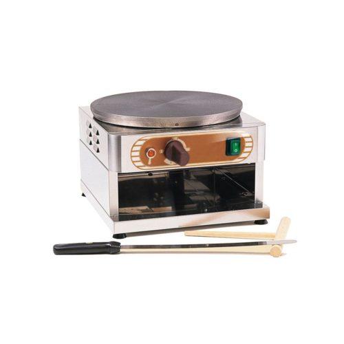 Crêpes-Eisen, Elektro, aus Edelstahl, 350 x 370 x 250 mm, - GGG - Gastroworld-24