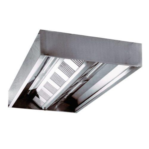 Deckenhaube (Kastenform) 1800x1800x480 mm, - GGG - Gastroworld-24
